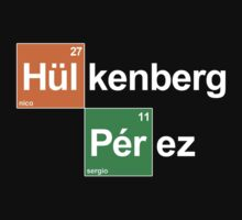 Team Hulkenberg Perez (black T's) by Tom Clancy