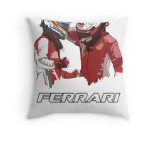Fernando & Kimi 2014 Throw Pillow