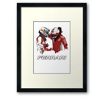 Fernando & Kimi 2014 Framed Print