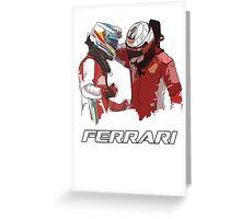 Fernando & Kimi 2014 Greeting Card