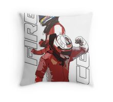 Alonso & Kimi (Fire & Ice) Throw Pillow