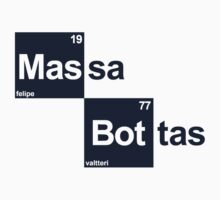 Team Massa Bottas (white T's) by Tom Clancy