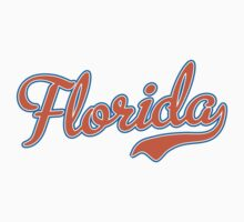 Florida Script Orange  Kids Clothes