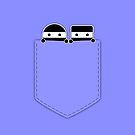 Pocket Ninjas - two lof bees by Josh Bush