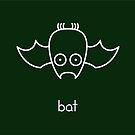 Bat - two lof bees by Josh Bush
