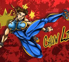 Chun Li by rigosworld