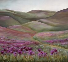 Wild Clover Fields by Linda Woodward