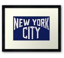 Vintage New York City - Dark Framed Print