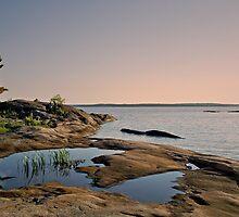 Georgian Bay Twilight by Gerda Grice