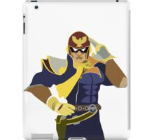 Captain Falcon Vector iPad Case/Skin