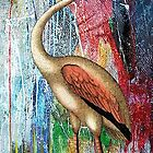MOONLIGHT FLAMINGO by Tammera