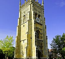 The Bell Tower, Evesham Abbey  by Rod Johnson