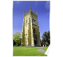 The Bell Tower, Evesham Abbey  Poster