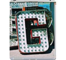 The Letter G iPad Case/Skin