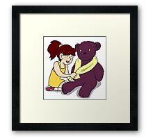 Beautiful Babies and Mental Teddies 4 Framed Print