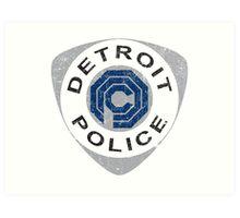 Detroit Police - Robocop Art Print