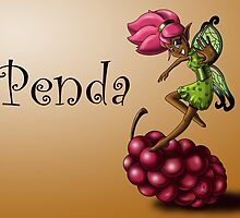 Grape Fairy Penda by treasured-gift