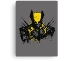 Mutant Rage Canvas Print