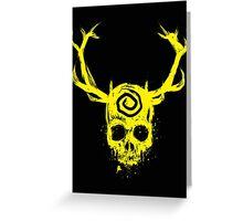 The Yellow King Greeting Card