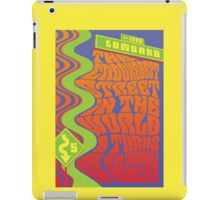 1960's Psychedelic San Francisco Crookedest Street iPad Case/Skin
