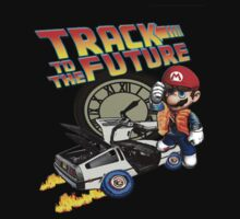Track to the future by AllMadDesigns