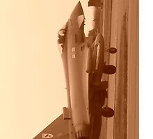 RAF TYPOON EUROFIGHTER 29SQN by LRWFLIGHTART
