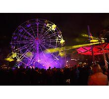 Dark MOFO, Ferris Wheel #2 Photographic Print