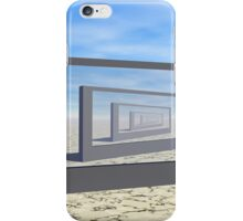 Flat Screen Desert Scene iPhone Case/Skin