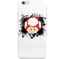 Abstract Super Mario Mushroom iPhone Case/Skin