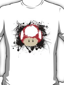 Abstract Super Mario Mushroom T-Shirt