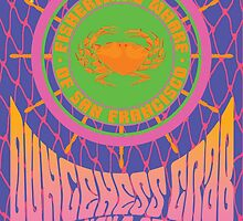 1960's Psychedelic San Francisco Fisherman's Wharf by Groovy-Frisco