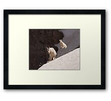 Kid in Flight Framed Print