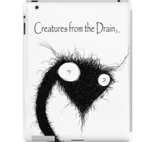 big creatures from the drain 6 iPad Case/Skin