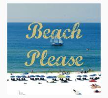 Beach Please Ocean View Kids Clothes
