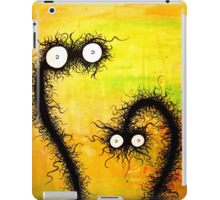 the creatures from the drain painting  14 iPad Case/Skin