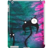the creatures from the drain painting 7 iPad Case/Skin