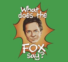 What Does The Michael J Fox Say? by VanHogTrio