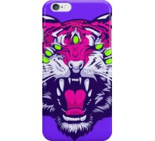 Seven-Eyed Tiger iPhone Case/Skin