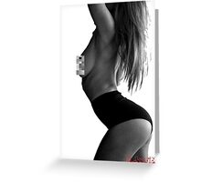 classified - censored Greeting Card