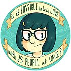 tina belcher sticker by skinnymister