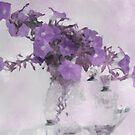 The Broken Branch - Digital Watercolor by Sandra Foster