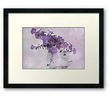 The Broken Branch - Digital Watercolor Framed Print