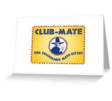 Club Mate Greeting Card