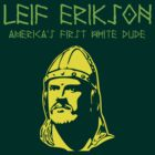 Leif Erikson for Dark T's Green-Yellow by BlueEyedDevil