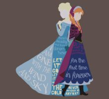 Elsa and Anna with Lyrics Kids Clothes