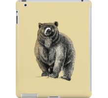 The Great Bear - A fierce protector iPad Case/Skin