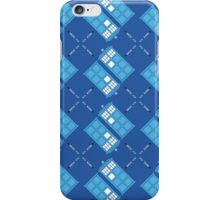 Gallifrey Argyle iPhone Case/Skin