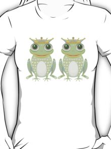 Two Frogs With Crowns T-Shirt