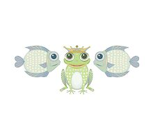 Fish Frog Fish by Jean Gregory  Evans