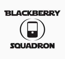 BlackBerry Squadron (Black) Kids Clothes